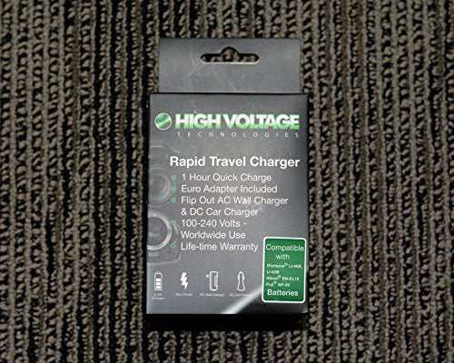 High Voltage Tech. Rapid Travel Charger