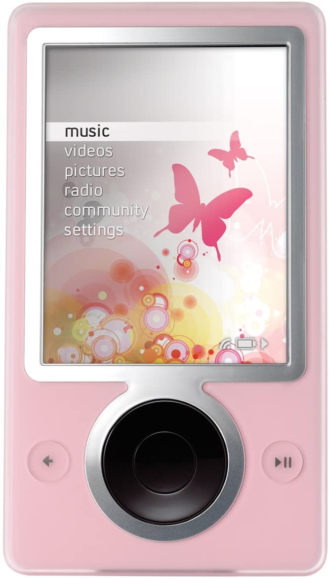 Zune 30 GB Digital Media Player, Pink (Brand New/ Open Box)