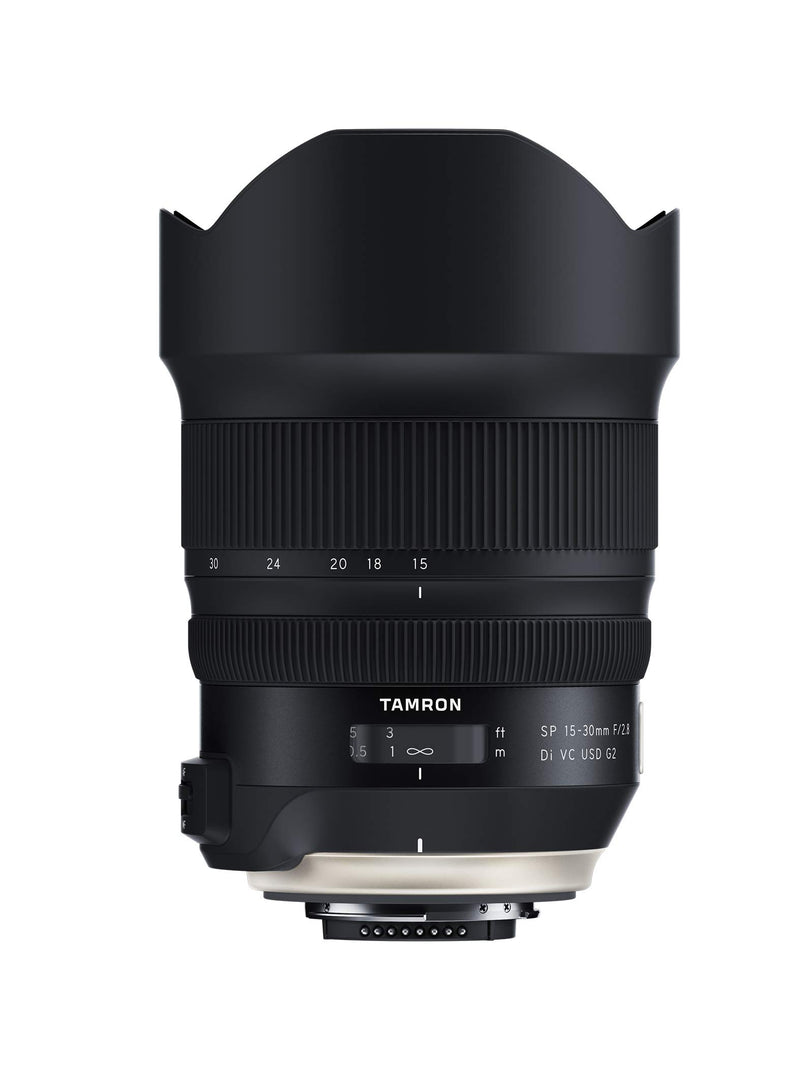 Tamron SP 15-30mm F/2.8 Di VC USD G2 for Nikon Digital SLR Camera (Tamron 6 Year Limited USA Warranty)