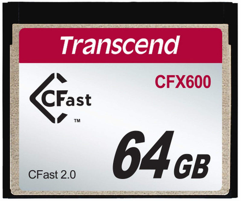 Transcend 64gb cFast 2.0 Card