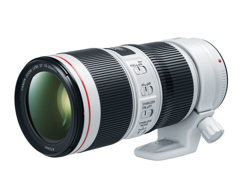 Canon EF 70-200mm f/4L is II USM Lens for Canon Digital SLR Cameras
