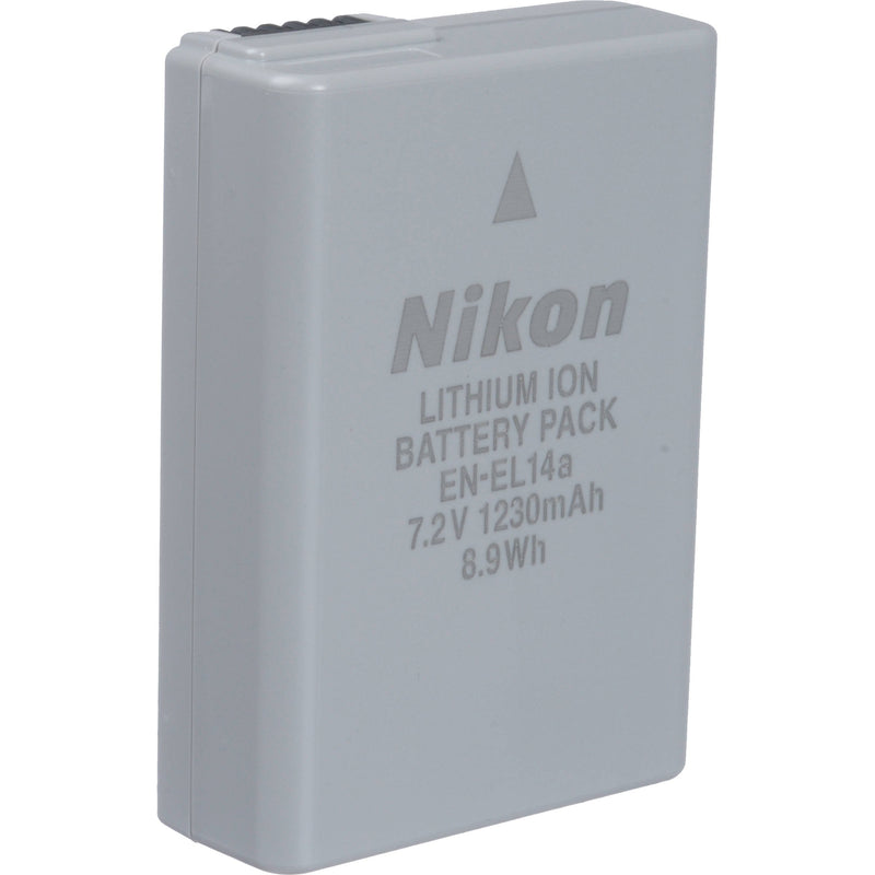 Nikon set of EN-EL14A battery and MH-24 Charger
