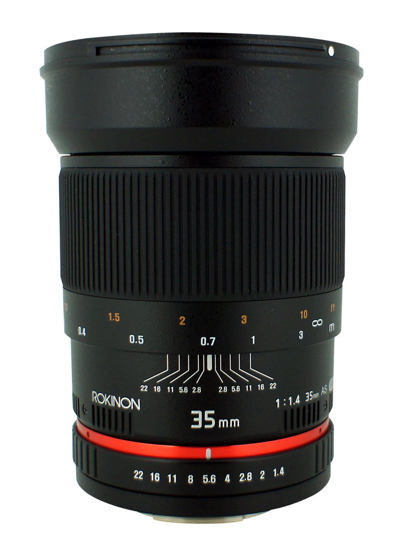 Rokinon 35mm Wide Angle Lens