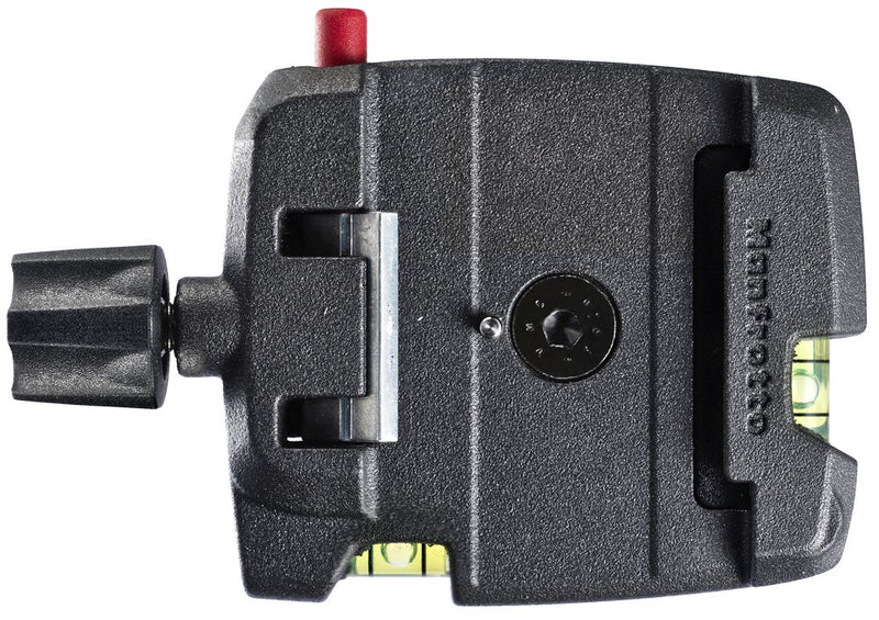 Manfrotto MSQ6 Q6 Top Lock Quick Release Adaptor with Plate (Black)