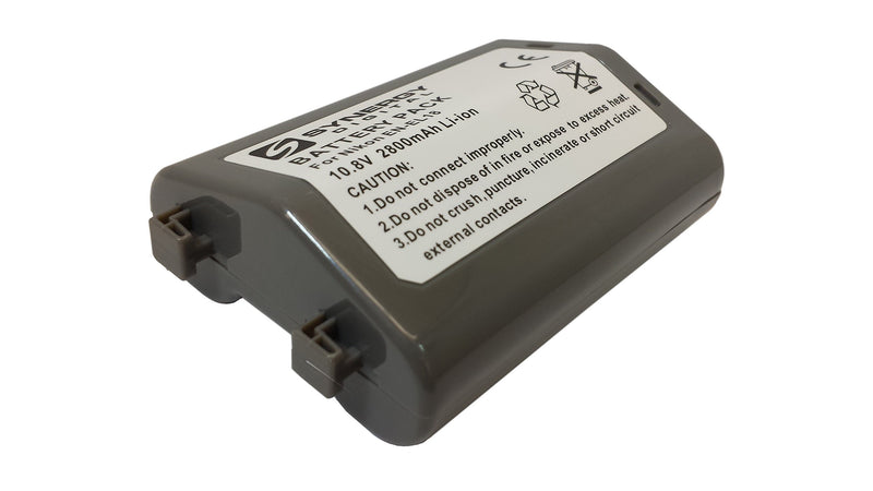 EN-EL18 Lithium-Ion Battery - Rechargeable Ultra High Capacity (2800 mAh 10.8V) - replacement for Nikon EN-EL18 Battery