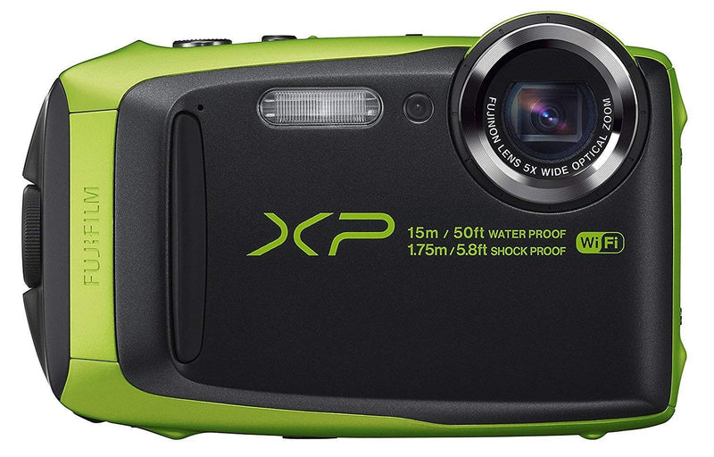 FUJIFILM FinePix XP125 Digital Camera (Lime Green)