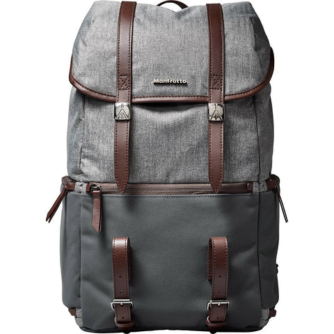 Manfrotto MB LF-WN-RP Camera Reporter Bag for DSLR Lifestyle Windsor, Grey