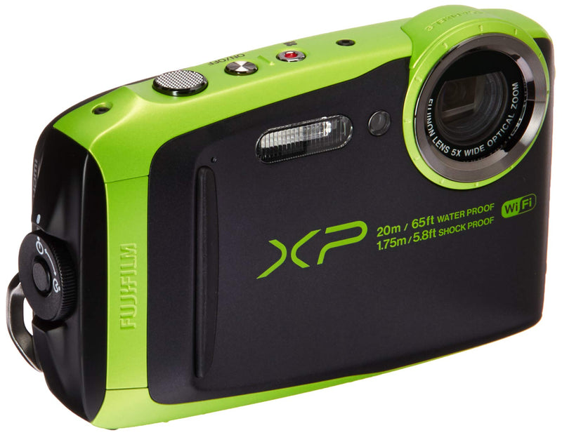 FUJIFILM FinePix XP120 Digital Camera (Lime Green)