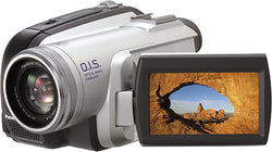 "Panasonic PV-GS80 Ultra-Compact Mini DV Camcorder, 32x Optical Zoom, Color Viewfinder, Optical Image Stabilizer, 2.7"" LCD Screen"