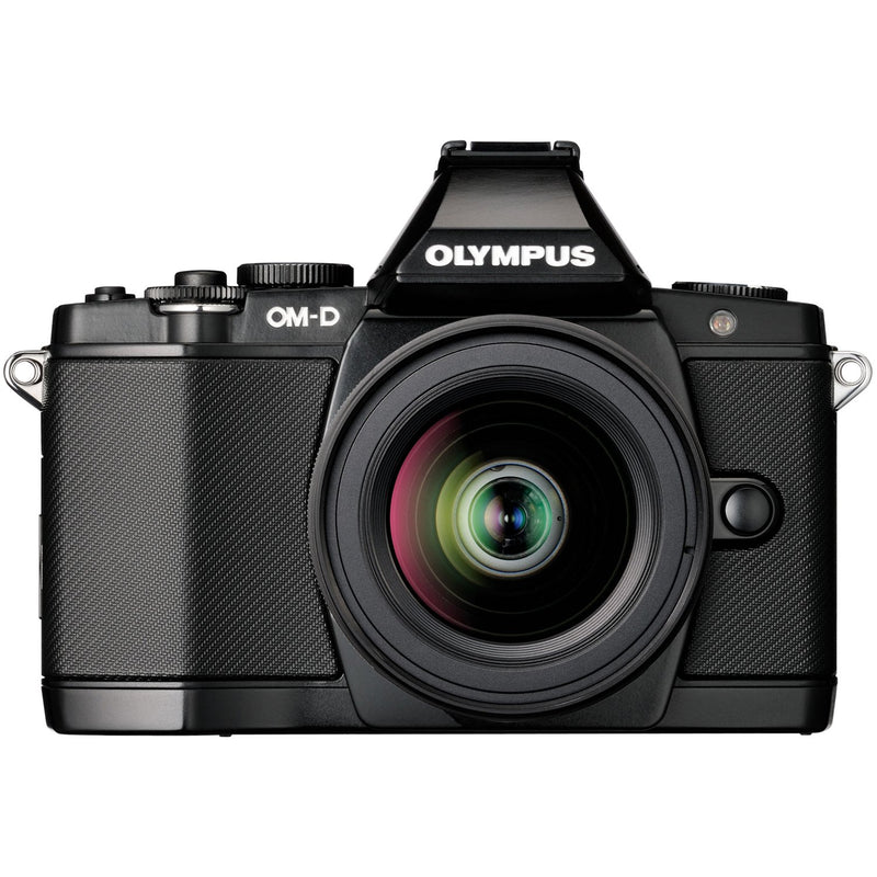 Olympus OM-D E-M5 Mirrorless Micro Four Thirds Digital Camera with 14-42mm Lens (Black)