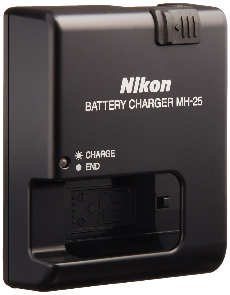 Nikon MH-25 Quick Charger for EN-EL15 Li-ion Battery compatible with Nikon D7000 and V1 Digital Cameras