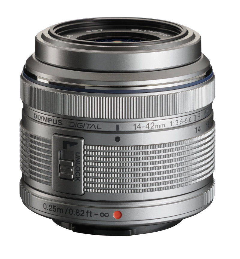 Olympus 14-42mm Interchangeable Lens for Olympus/Panasonic Micro 4/3 Cameras
