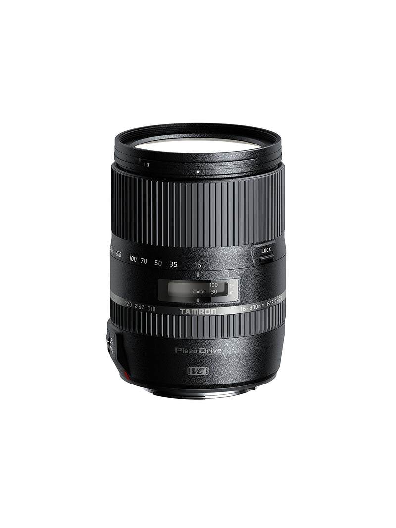 Tamron 16-300 F/3.5 6.3 Di II VC PZD Macro 16-300mm Interchangeable Lens for Cameras