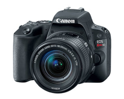 Canon EOS Rebel SL2 Digital Camera and Lens
