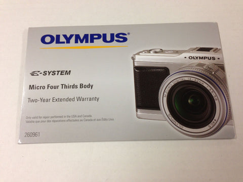 Olympus Micro Four Third Cameras Accessory kit, Includes 2 Year Extended service, 8GB SD card, Case and more
