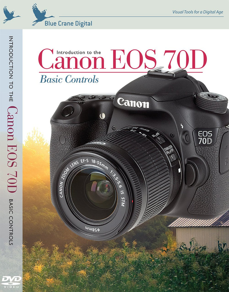 Canon EOS 70D inBrief Laminated Reference Card