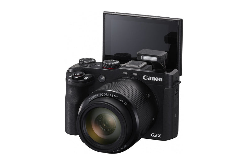 Canon PowerShot G3 X Digital Camera w/ 1-Inch Sensor and 25x Optical Zoom - Wi-Fi & NFC Enabled (Black)