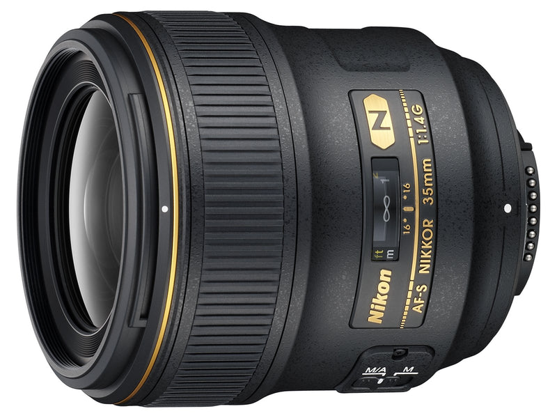 Nikon 35mm f/1.4G Fixed Focal Length Lens for Nikon DSLR Cameras