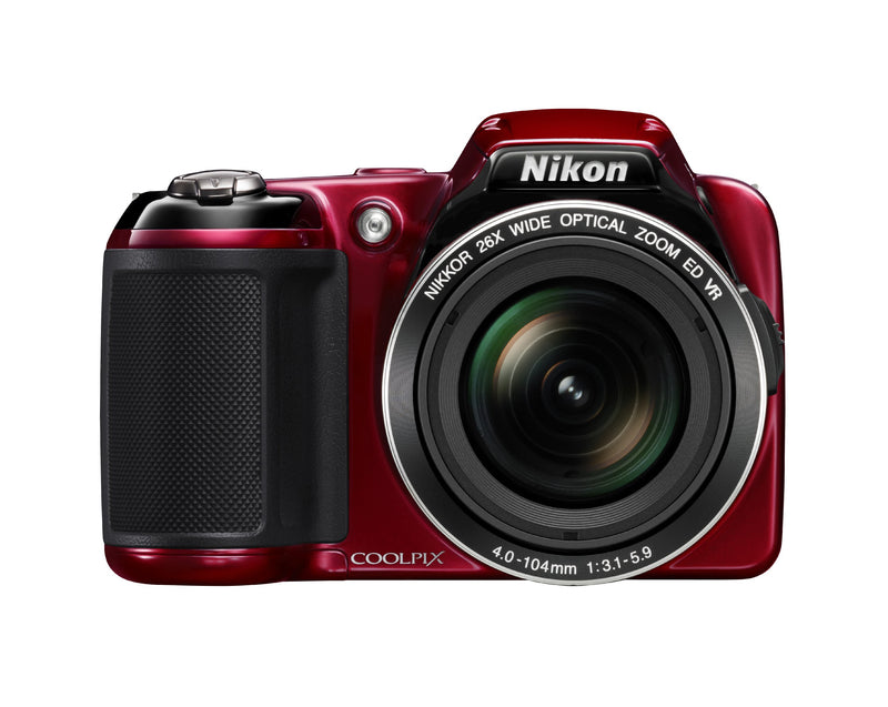 Nikon COOLPIX L810 16.1 MP Digital Camera with 26x Zoom NIKKOR ED Glass Lens and 3-inch LCD