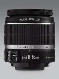 Canon EF-S 18-55mm f/3.5-5.6 IS Zoom Lens for Canon SLR Cameras