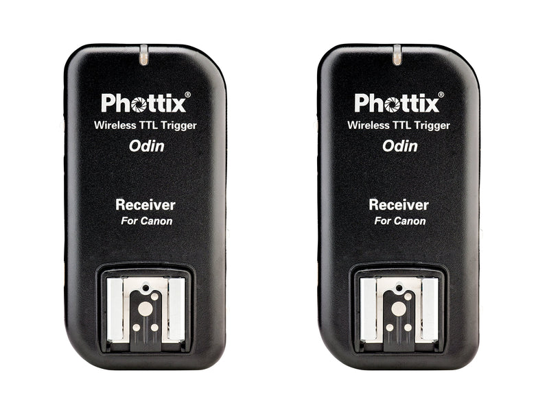 Phottix Odin TTL Wireless Flash Trigger v1.5 for Canon - Receiver 2-Pack (PH89062)