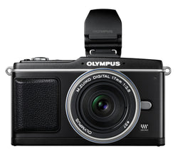 Olympus PEN E-P2 12.3 MP Micro Four Thirds Mirrorless Digital Camera with 17mm f/2.8 Lens and Electronic View Finder
