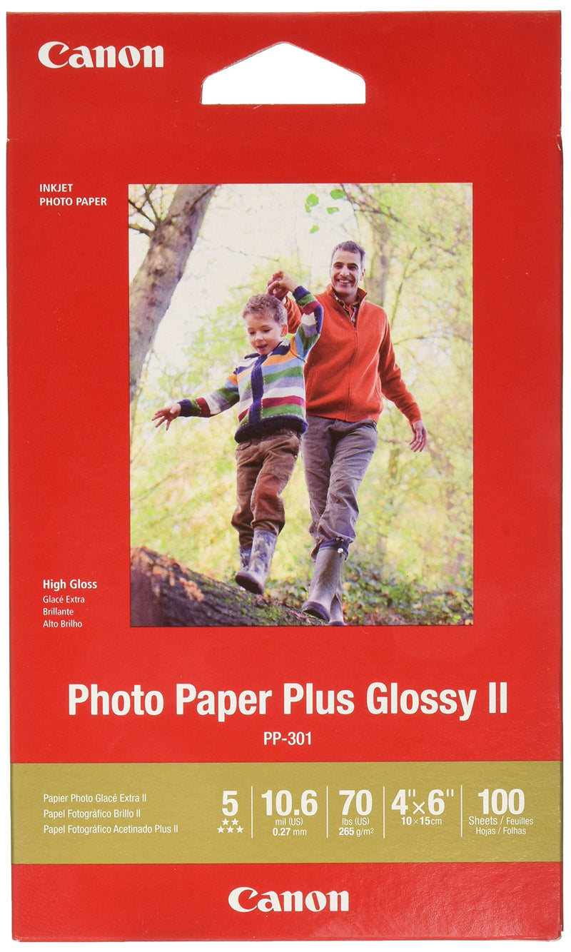 Canon Photo Paper Glossy 4 x 6 Inches, GP-601 (8649)