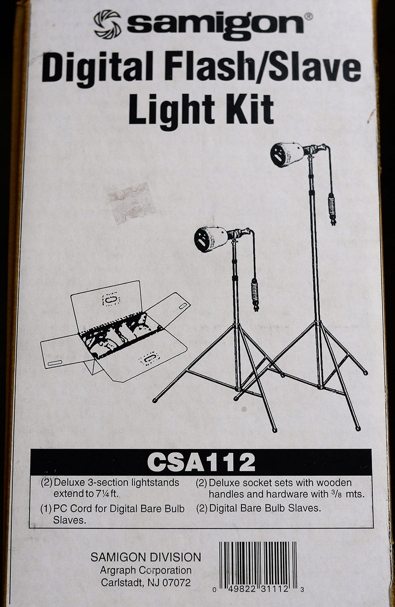 Samigon CSA112 Digital Flash/Slave Light Kit