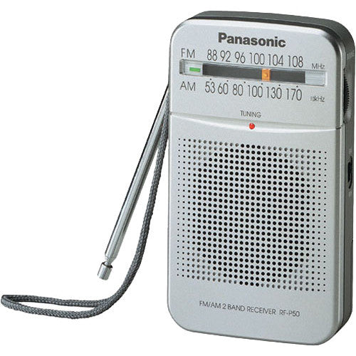 Panasonic RF-P50 AM/FM Pocket Radio