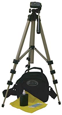 "Digital Concepts Deluxe 50"" Tripod with Case & lens cleaning Set - 19960R"