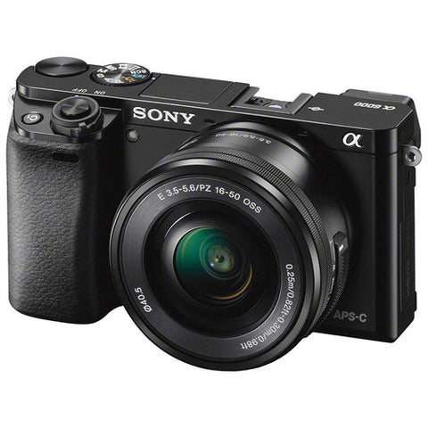 Sony Alpha a6000 Mirrorless Digital Camera with 16-50mm Lens