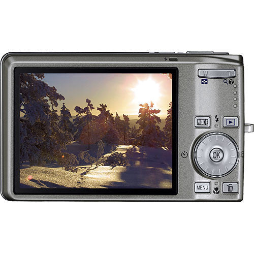 Nikon Coolpix S700 with 3 Optical Zoom Digital Camera (Silver)-Camera Wholesalers