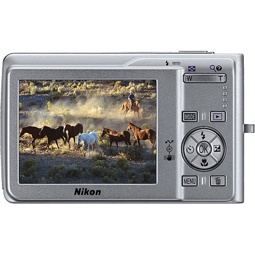 Nikon Coolpix S200 Compact Digital Camera with 3x Optical Zoom-Camera Wholesalers