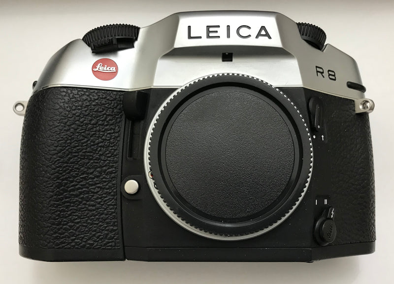 Leica R 8 35mm SLR Manual Focus Camera Body (Silver) Used Excellent-Camera Wholesalers