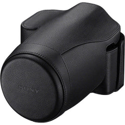 Sony Genuine Leather Jacket Case for a7 or a7R Digital Camera (Black)