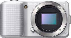 Sony Alpha NEX-3 Interchangeable Lens Digital Camera Body (Silver)