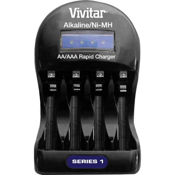 Vivitar BC-ALK Series 1 Alkaline/NiMH Battery Charger