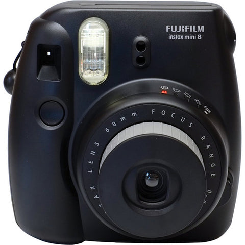 FUJIFILM instax mini 8 Instant Film Camera - Black
