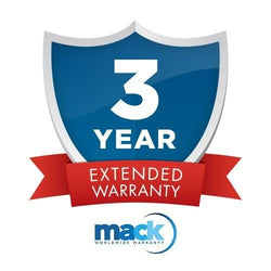 Mack 3 Yr. Diamond Warranty-Under $750