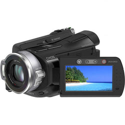 "Sony HDR-SR7 Handycam Camcorder, Carl Zeiss Lens, AVC HD 60GB Hard-Disc 1/3"" CMOS Sensor, 10x Optical Zoom, 2.7"" LCD"