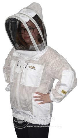 OZ Armour Beekeeping 3 Layer Mesh Ventilated Jacket