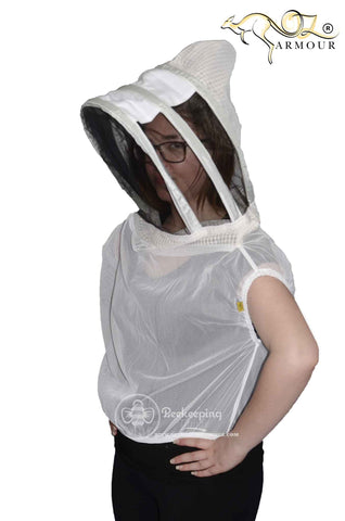 OZ Armour Fencing Sheriff Style Veil Picture 1