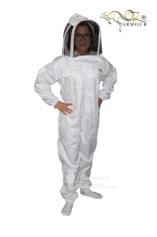 OZ Armour Poly Cotton Beekeeping Suit picture 1