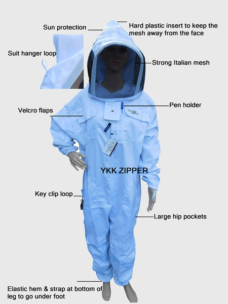 OZ Armour Poly Cotton Beekeeping Suit picture3