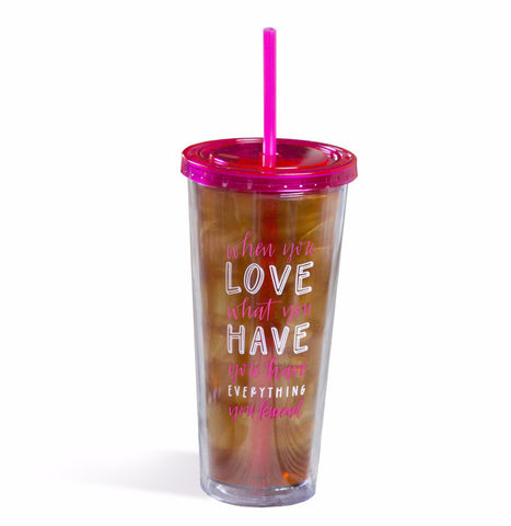 Wildflower Love Tumbler