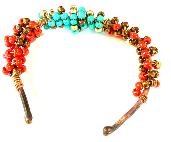Copper Beaded Bracelet-17