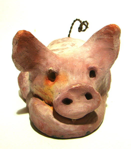 "This Little Piggy is 4"" x 5' x 6"" and weighs 1.8 lbs"