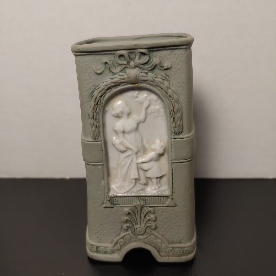 Jasperware, rectangle vase