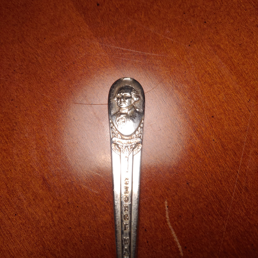 George Washington, Mount Vernon, William Rogers souvenir spoon silver plate