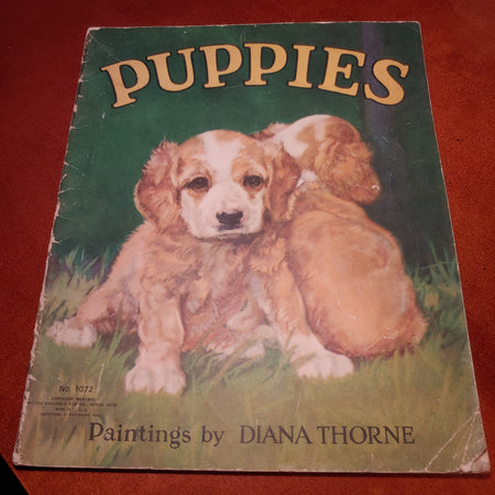 1935, sale field Publishers, puppies by Diana Thorne